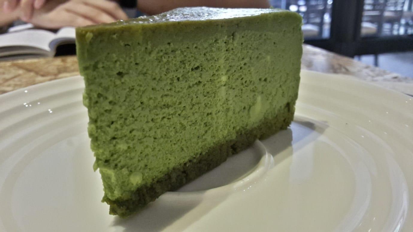 Lo Faro Green Tea Cake