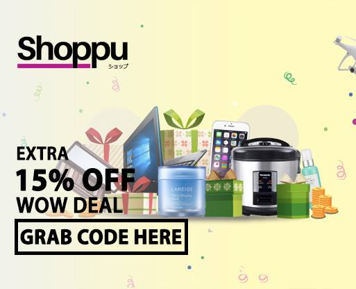 Shoppu wow deal 15 off